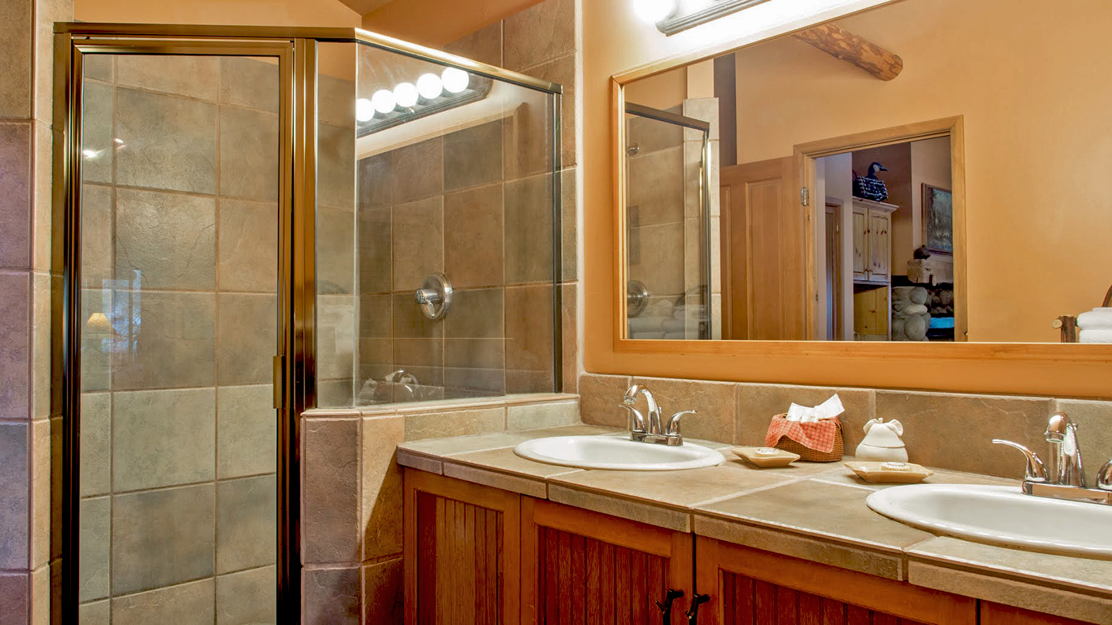 The Spa Suites feature a very large bathroom