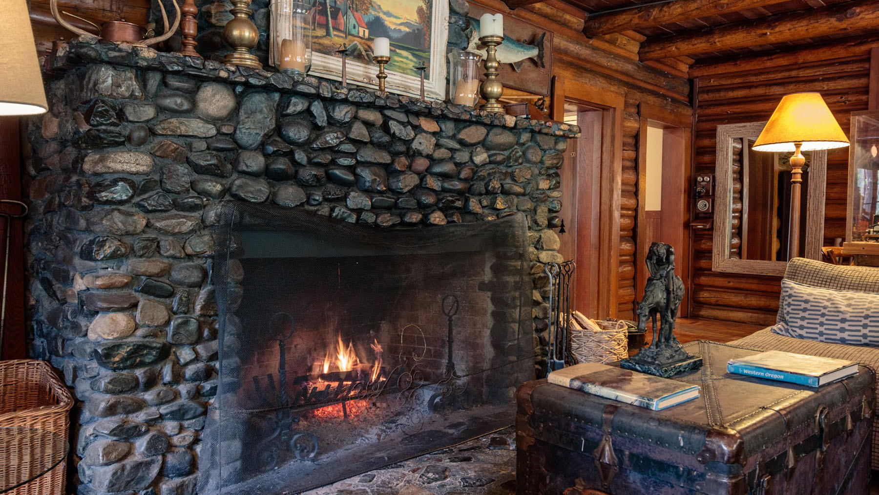 The main Lodge Fireplace